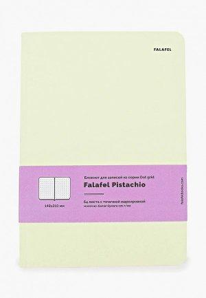 Блокнот Falafel 64 листа. Цвет: зеленый