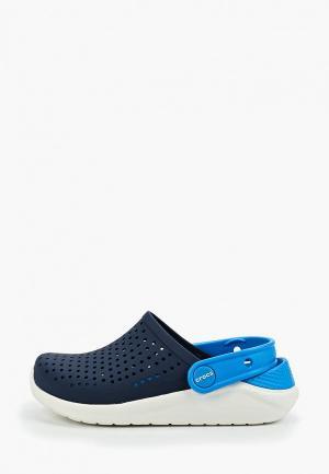Сабо Crocs LiteRide Clog K. Цвет: синий