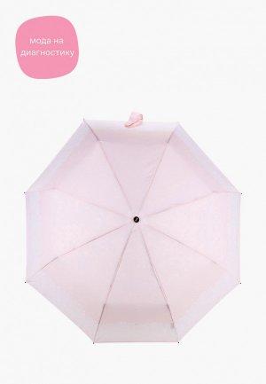 Зонт складной Doppler. Цвет: розовый