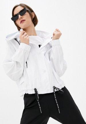 Ветровка DKNY. Цвет: белый