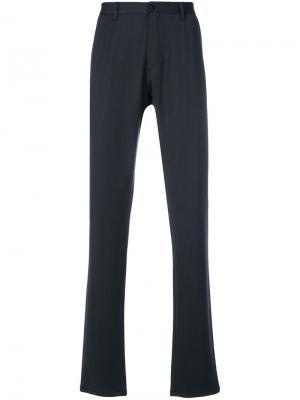 Классические брюки Giorgio Armani. Цвет: серый