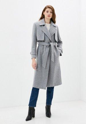 Пальто Rinascimento. Цвет: серый
