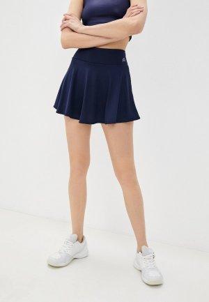 Юбка-шорты Nativos. Цвет: синий