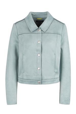 Куртка Comma. Цвет: голубой