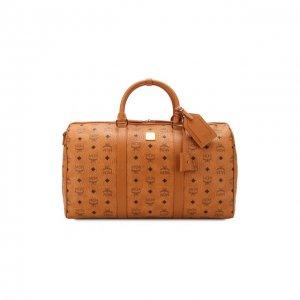 Дорожная сумка Traveler medium MCM. Цвет: коричневый