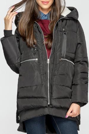 Куртка Joins. Цвет: черный