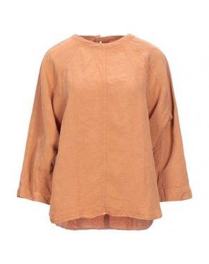 Блузка ELVINE. Цвет: абрикосовый