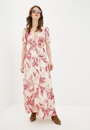 Платье 2nd Day. Цвет: бежевый