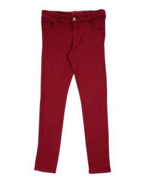 Повседневные брюки J BE. Цвет: красно-коричневый