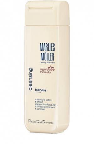 Шампунь для восстановления и защиты волос Marlies Moller. Цвет: бесцветный