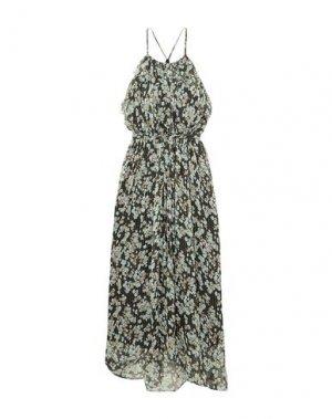 Длинное платье JASON WU. Цвет: черный