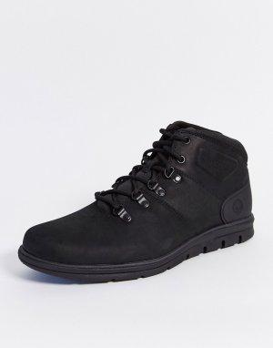Черные походные ботинки -Черный Timberland