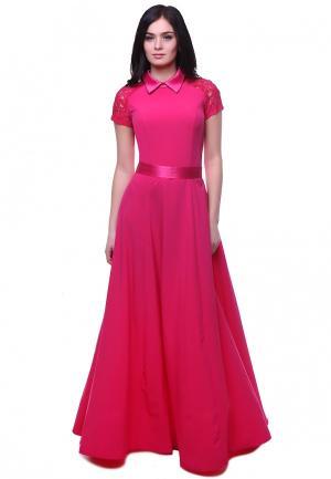 Платье Grey Cat KORY. Цвет: розовый