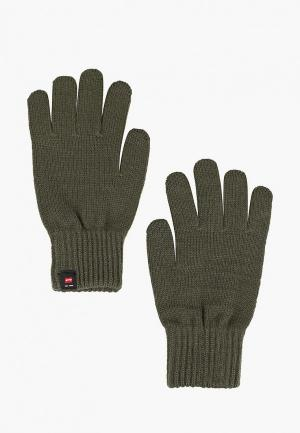 Перчатки Jack & Jones. Цвет: хаки