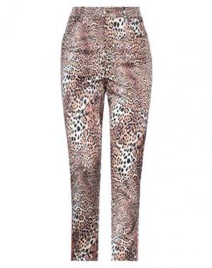 Повседневные брюки ANGELO MARANI. Цвет: пастельно-розовый