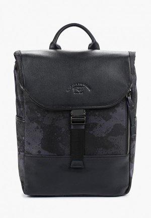 Рюкзак Franco Frego BPCK. Цвет: синий