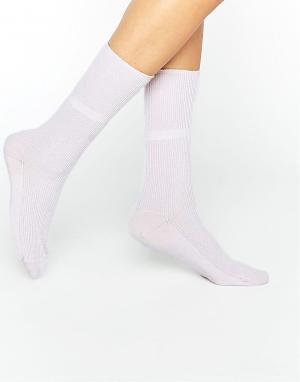 Розовые кашемировые носки of Elgin Johnstons. Цвет: розовый