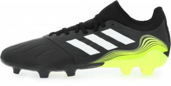 Бутсы мужские adidas Copa Sense.3 FG, размер 40.5. Цвет: черный