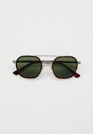 Очки солнцезащитные Persol PO2480S 513/31. Цвет: коричневый
