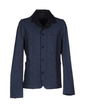 Пиджак CARE LABEL. Цвет: темно-синий