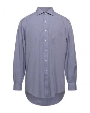 Pубашка BROOKS BROTHERS. Цвет: темно-синий