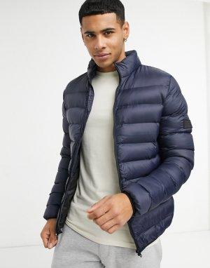 Утепленная куртка темно-синего цвета -Темно-синий French Connection