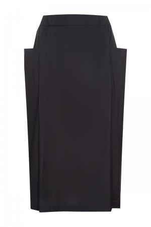 Трендовая юбка VASSA&Co. Цвет: черный