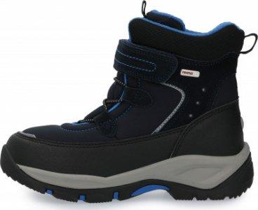 Ботинки утепленные для мальчиков Denny, размер 35 Reima. Цвет: синий