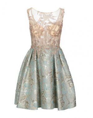 Короткое платье LEXUS. Цвет: песочный