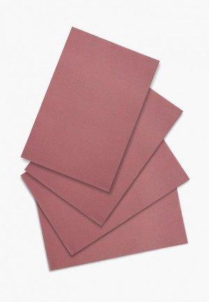 Комплект салфеток сервировочных DeNastia Талисман. Цвет: розовый