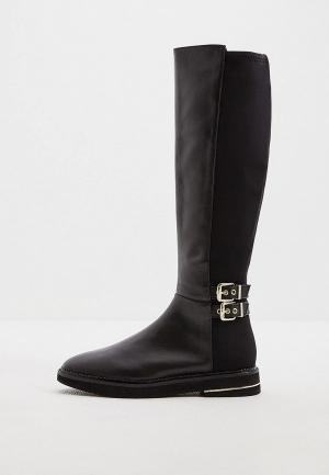 Сапоги DKNY. Цвет: черный