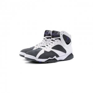Кроссовки Air Jordan 7 Flint NikeLab. Цвет: серый