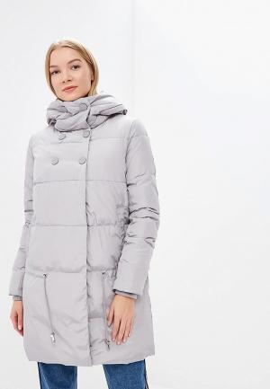 Куртка утепленная Tom Farr. Цвет: серый