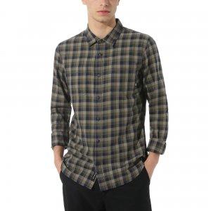 Рубашка Alameda Flannel VANS. Цвет: зеленый