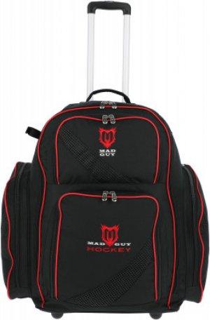 Рюкзак хоккейный MadGuy. Цвет: черный