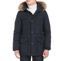 Куртка MW0MW12160 темно-синий TOMMY HILFIGER