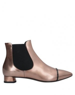 Полусапоги и высокие ботинки AGL ATTILIO GIUSTI LEOMBRUNI. Цвет: медный