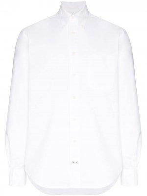 Строгая рубашка Gitman Vintage. Цвет: белый
