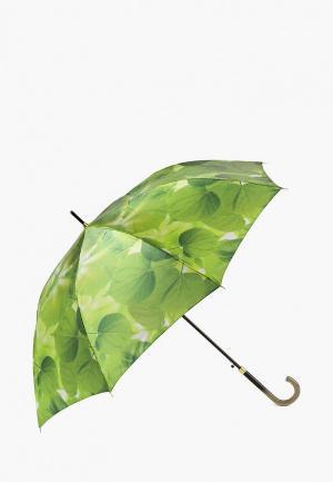 Зонт-трость Henry Backer. Цвет: зеленый