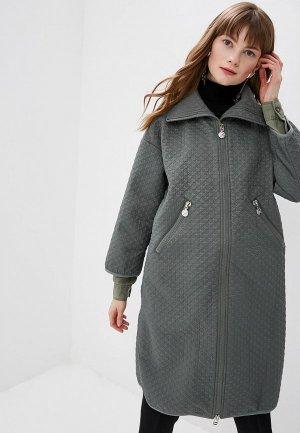 Куртка утепленная Naumi. Цвет: зеленый