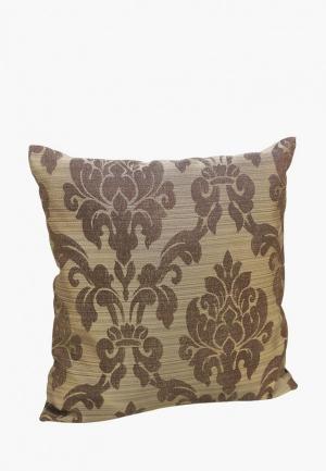 Подушка декоративная Kauffort Afina. Цвет: коричневый