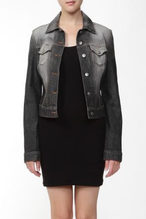 Куртка джинсовая Richmond. Цвет: серый