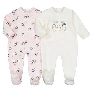 2 пижамы LaRedoute. Цвет: розовый