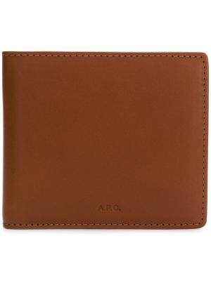 Бумажник Aly A.P.C.. Цвет: коричневый