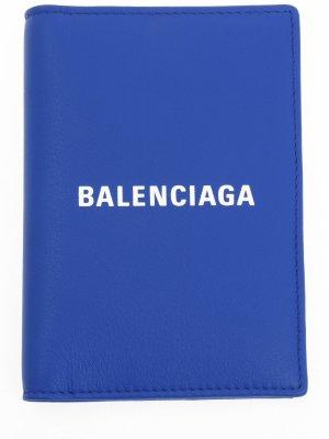Визитница кожаная с логотипом BALENCIAGA