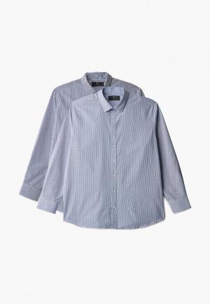 Рубашки 2 шт. Marks & Spencer. Цвет: разноцветный