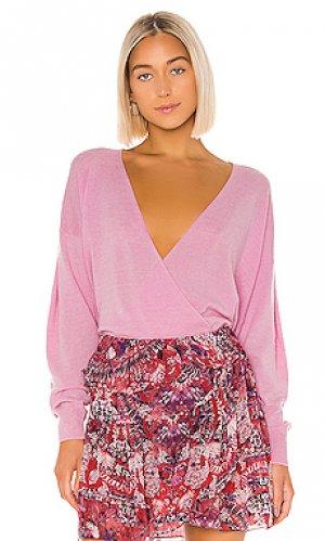 Пуловер dewalt IRO. Цвет: розовый