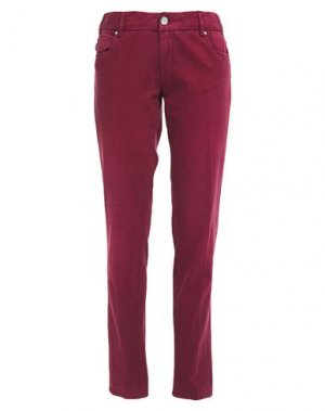 Повседневные брюки TRAMAROSSA. Цвет: красно-коричневый