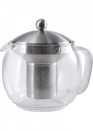 Заварочный чайник с фильтром Чаепитие bonprix. Цвет: бесцветный