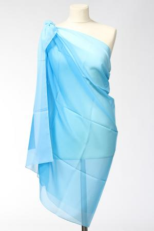 Парео F.FRANTELLI. Цвет: голубой
